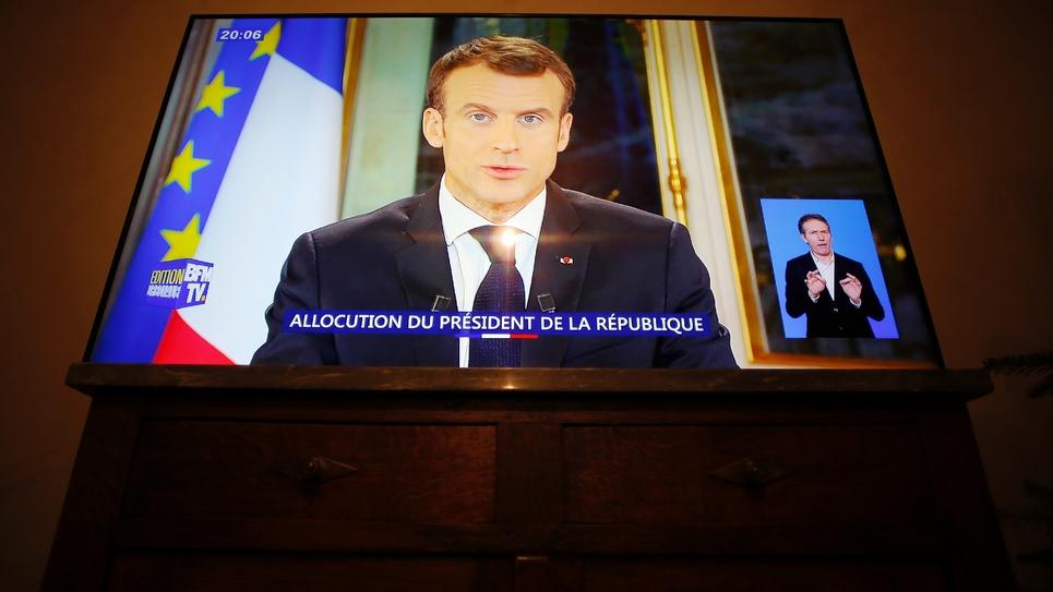 Allocution de Macron: nouvelles réactions politiques