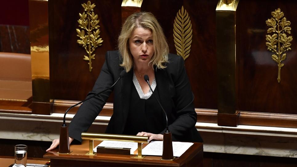 La députée LREM Barbara Pompili, candidate au perchoir de l'Assemblée nationale, le 22 mai 2018