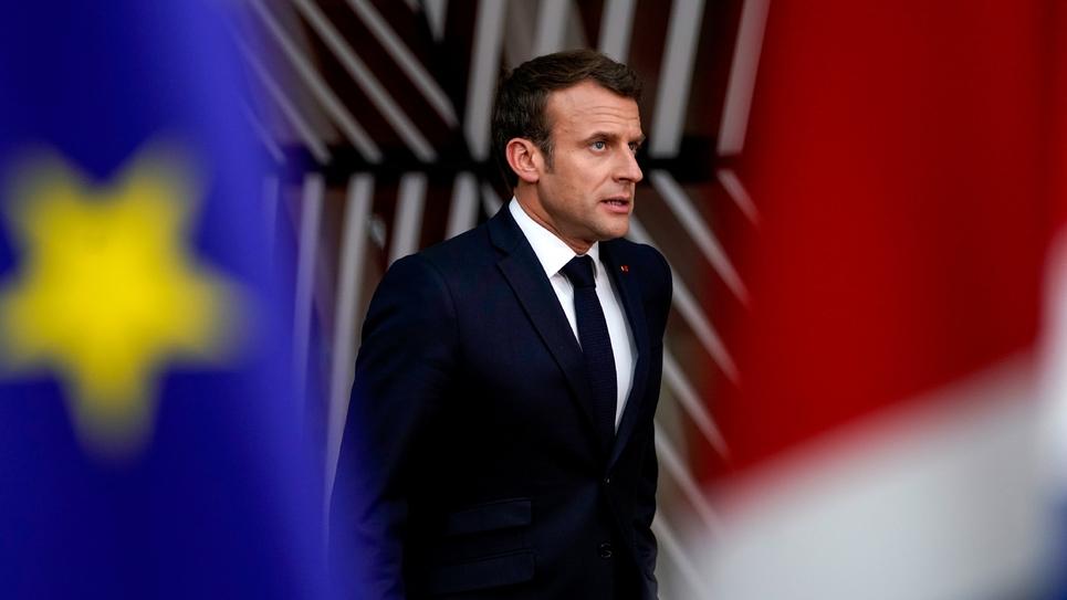 Le président français Emmanuel Macron, le 28 mai 2019 à Bruxelles