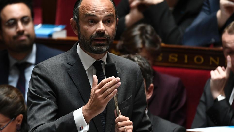 Edouard Philippe à l'Assemblée nationale, le 16 octobre 2018