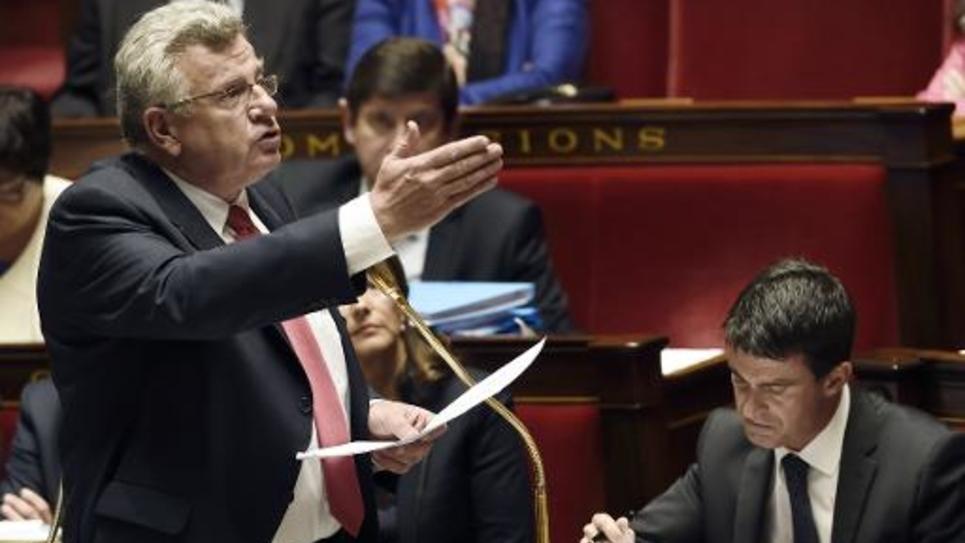 Le secrétaire d'Etat au Budget, Christian Eckert, le 1er octobre 2014 à Paris