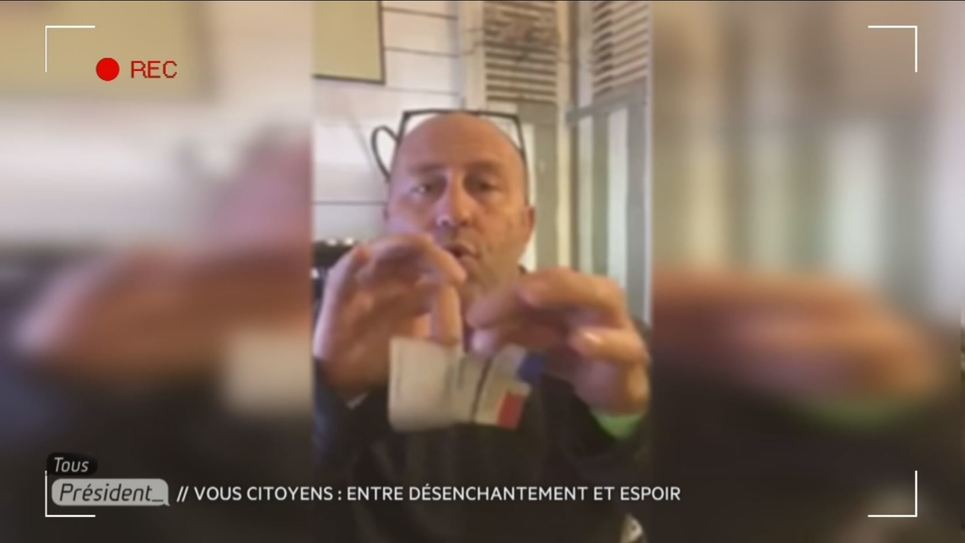 Frédéric Tabary a décidé de déchirer sa carte d'électeur