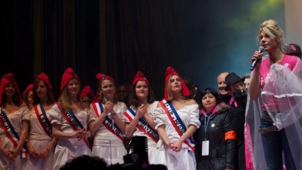 Frigide Barjot le 13 janvier 2013