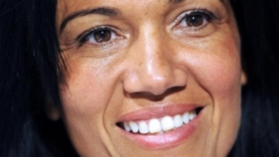 La sénatrice PS des Bouches-du-Rhône, Samia Ghali