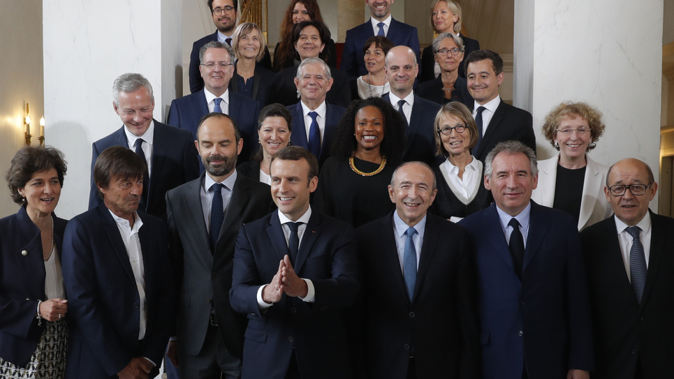 Gouvernement d'Edouard Philippe