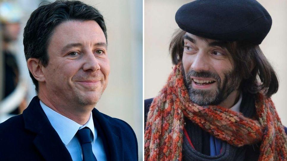 Benjamin Griveaux et Cédric Villani