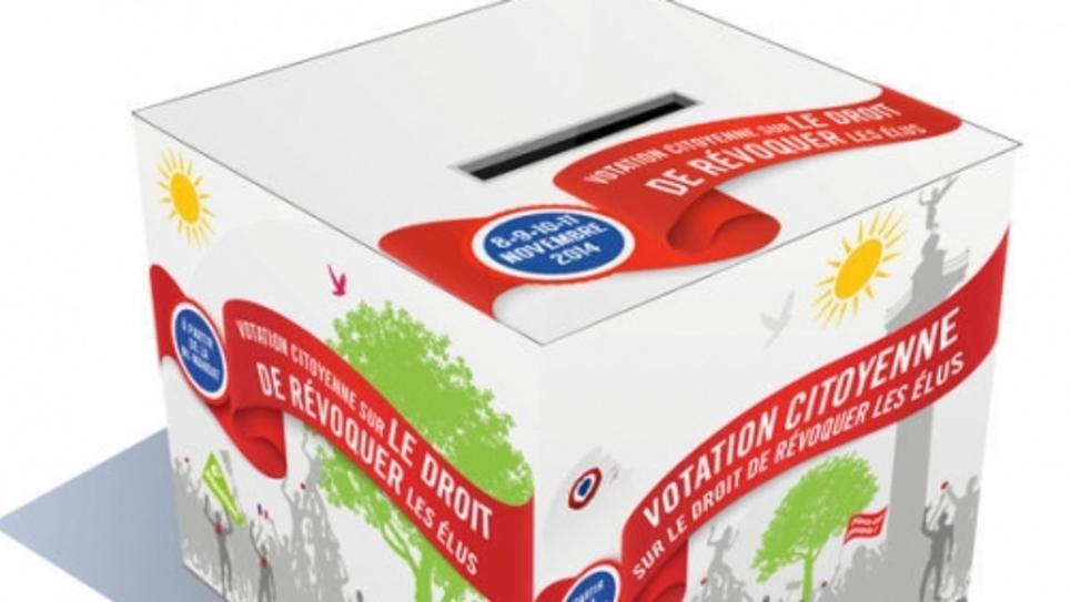 L'urne vendue 11 euros par le Parti de gauche