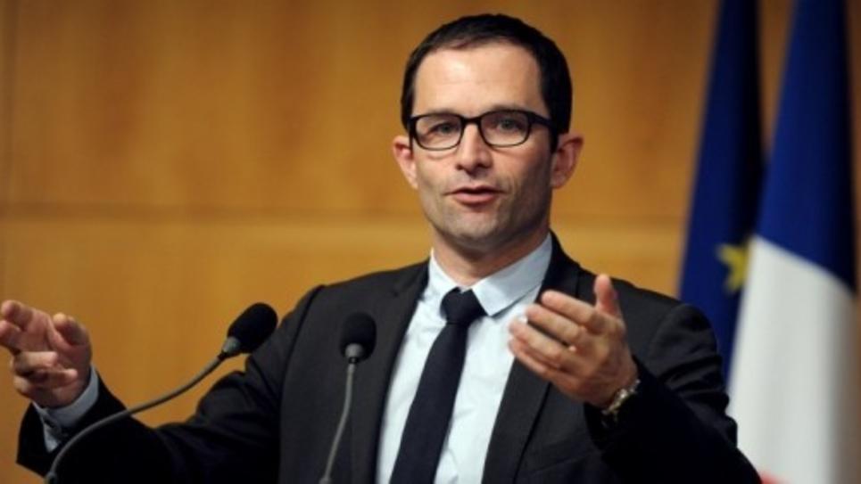 Benoît Hamon, ministre de l'Education nationale, de l'Enseignement supérieur et de la Recherche