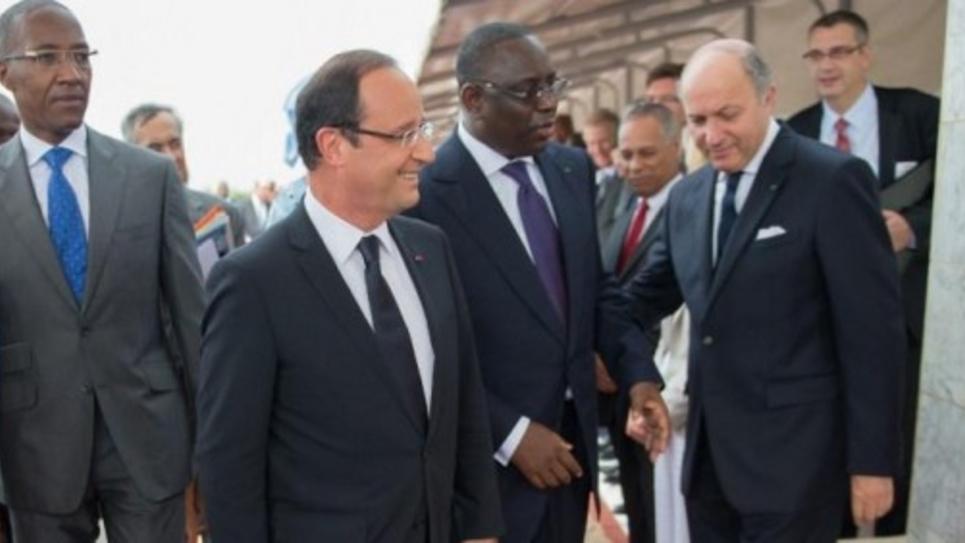 Françoi Hollande à Dakar