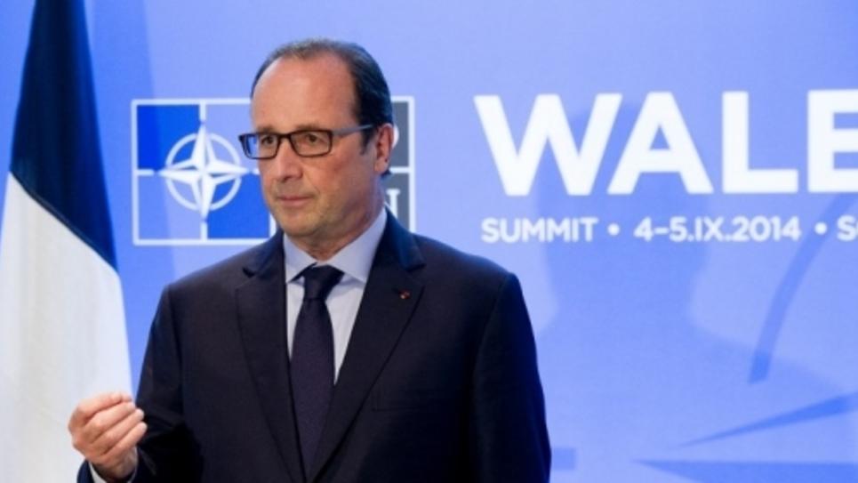 François Hollande à l'Otan