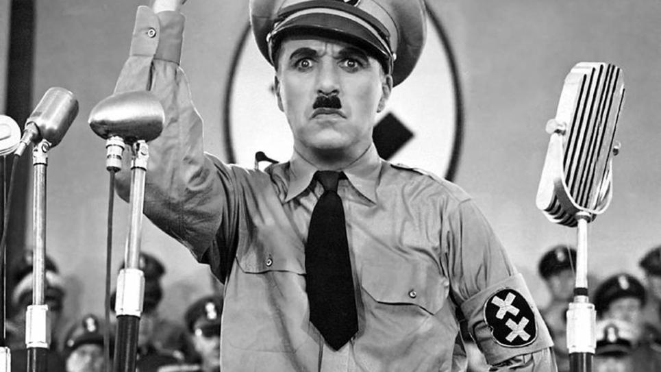 """""""Le dictateur"""" Charlie Chaplin 1940"""