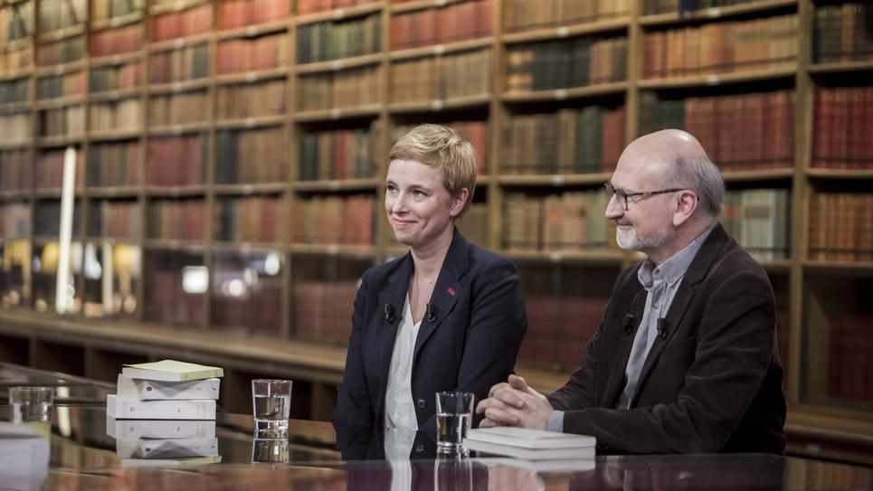 Livres & vous, Clémentine Autain et Eric Fottorino