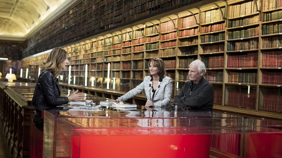 Livres & vous, Ségolène Royal et Yann-Arthus Bertrand