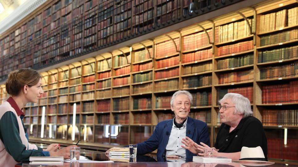 Livres & vous, discussion autour du sport entre Georges Vigarello et Robert Redecker