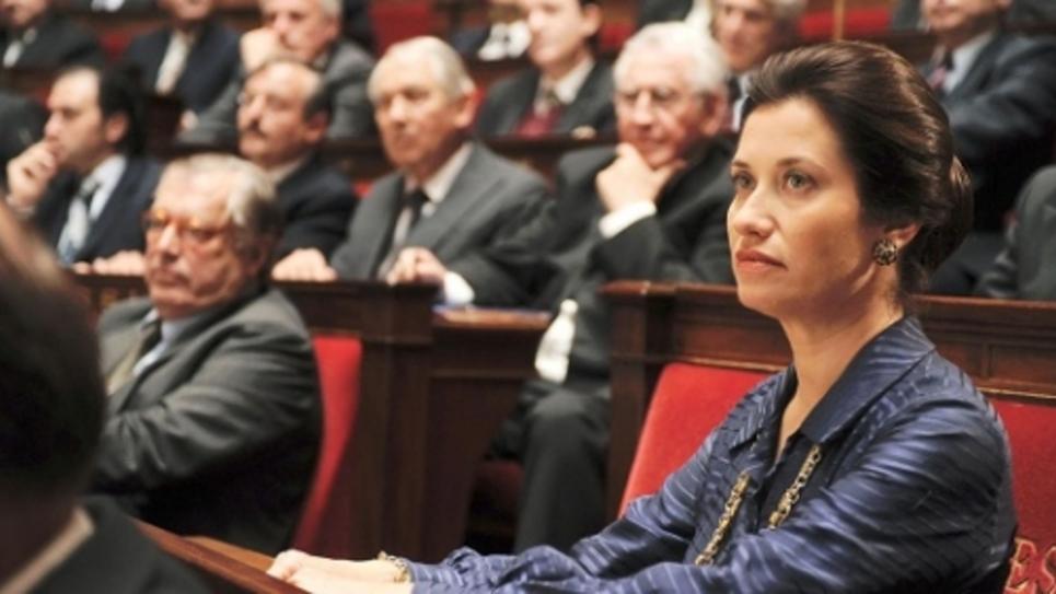 Emmanuelle Devos dans le rôle de Simone Veil