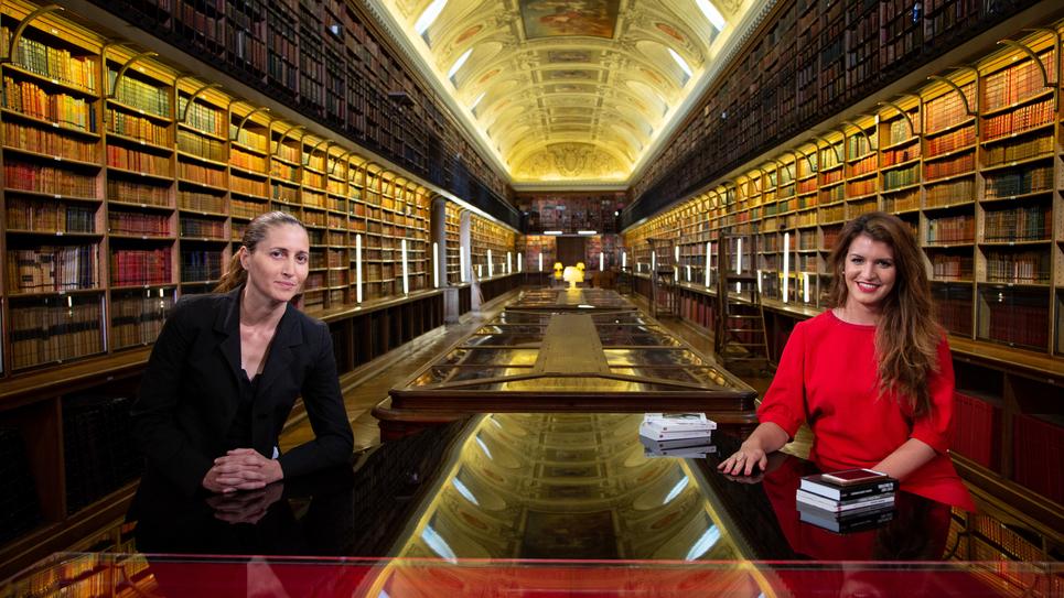 Marlène Schiappa et Cynthia Fleury dans Livres & vous