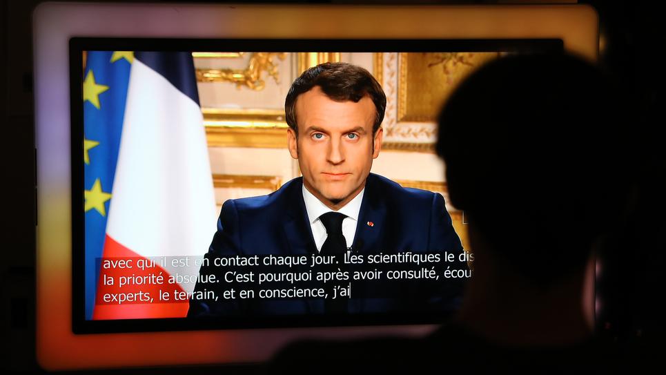Allocution d'Emmanuel Macron le 16 mars 2020