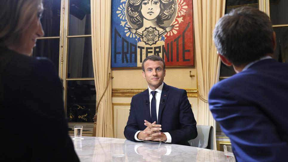 Emmanuel Macron TF1