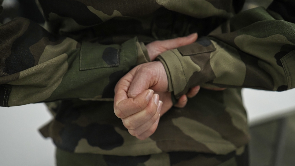 FRANCE-ARMY-OFFICER