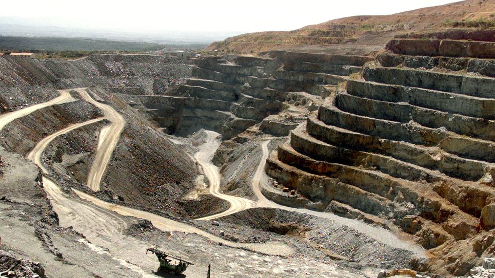 Mine d'or de Salsigne dans l'Aude