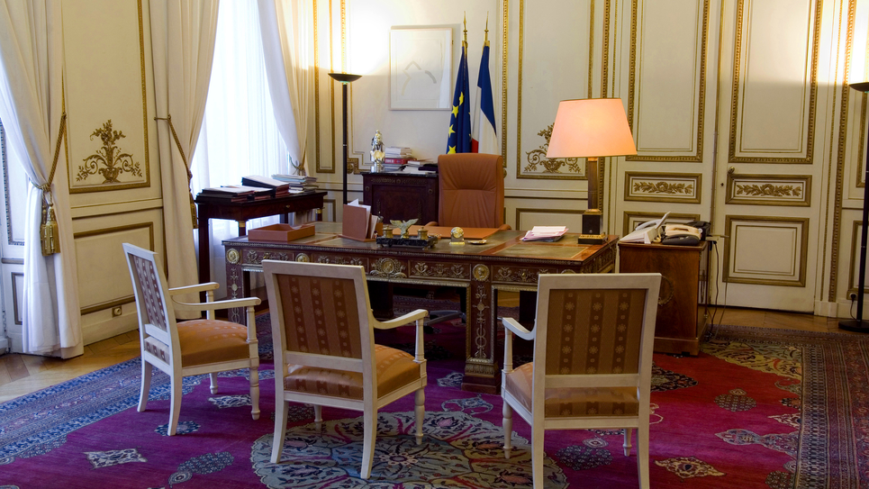 Bureau du ministre de l'Intérieur