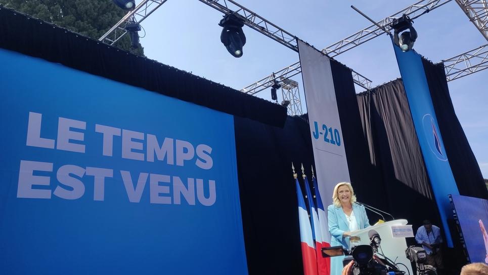 Marine Le Pen à Fréjus