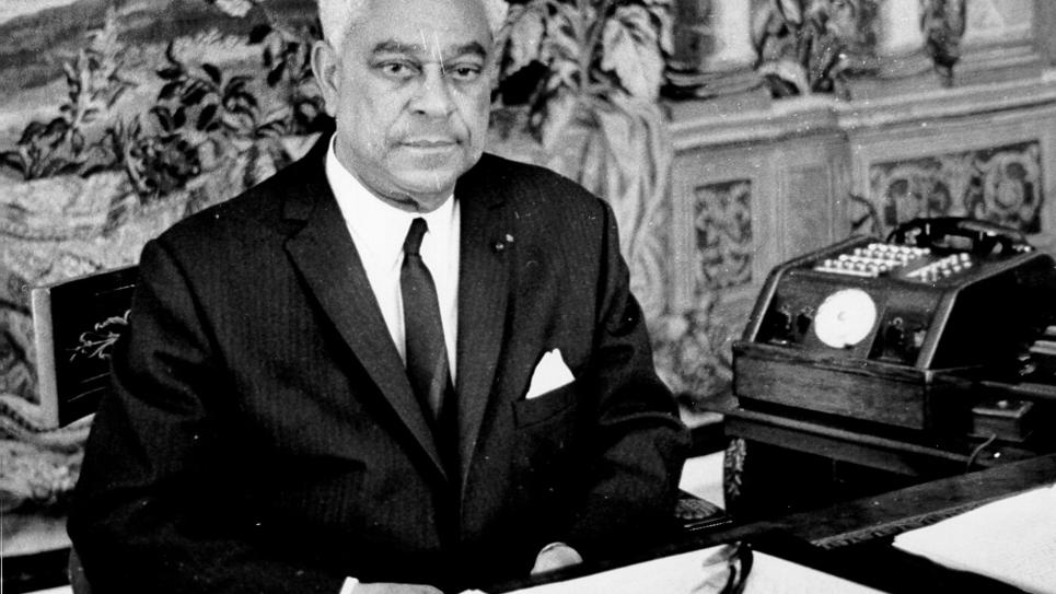 Gaston Monnerville en 1968