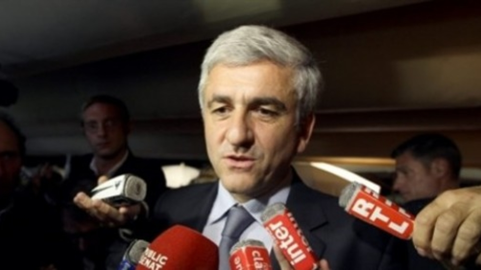 Hervé Morin, le président du Nouveau Centre