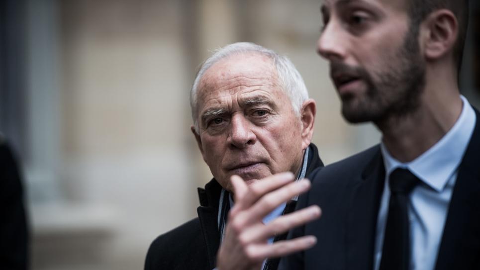 FRA : Matignon : Gilets Jaunes : consultations des partis politiques : LAREM