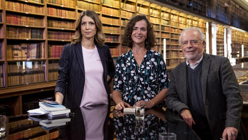 Agnès Desarthe et Richard Russo sur le plateau de Livres & vous