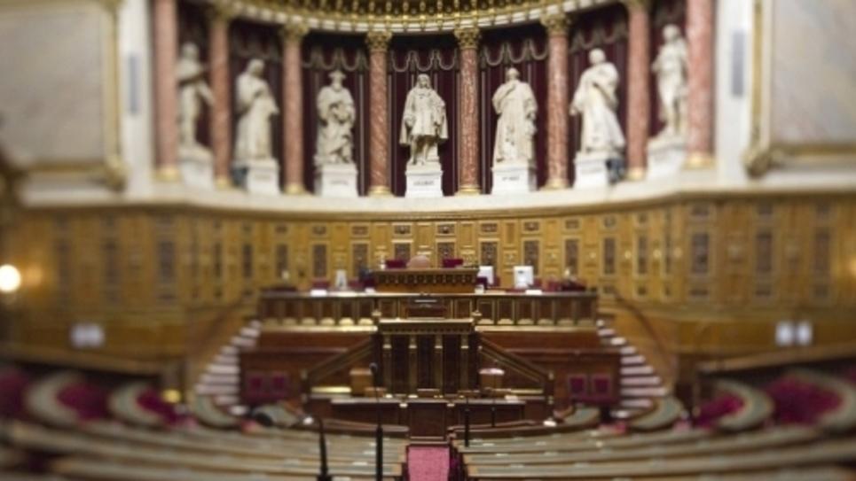 Hémicycle du Sénat. Image d'illustration.