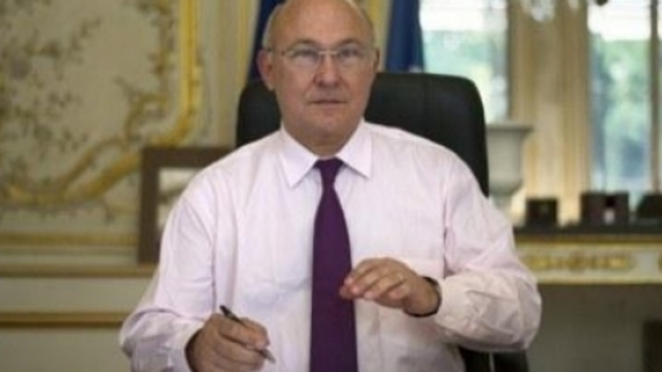 Le ministre des Finances, Michel Sapin