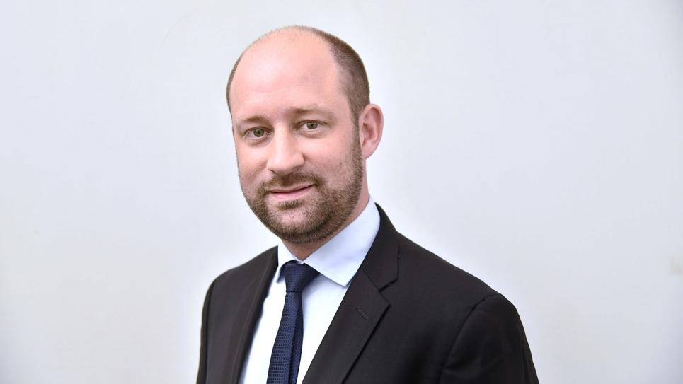 Paris: Loic Herve, senateur UDI de Haute-Savoie.