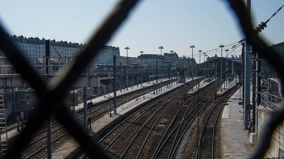 Paris: Coronavirus Gare du Nord