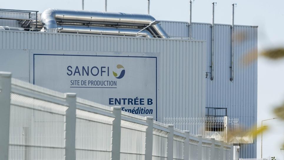 Le site du Laboratoire pharmaceutique Sanofi-Aventis à Amilly