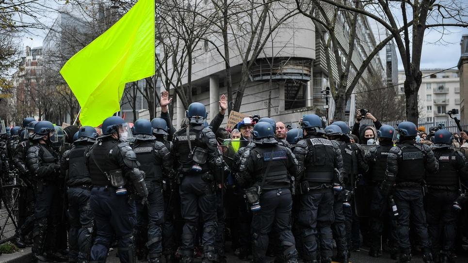 Paris: Marche des libertes et des justices