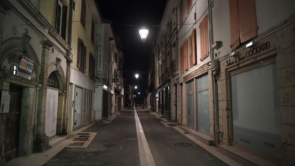 Bourgoin Jallieu couvre-feu