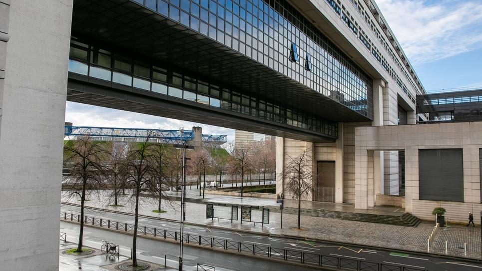PARIS: Bercy, Le Ministere de l'Economie et des Finances