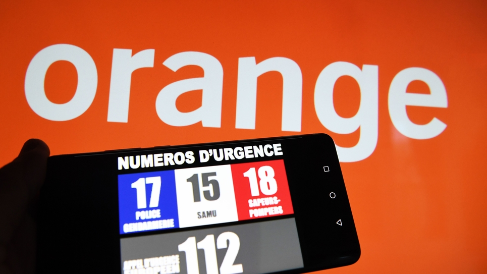 Les numeros d urgence perturbes par une panne massive chez Orange