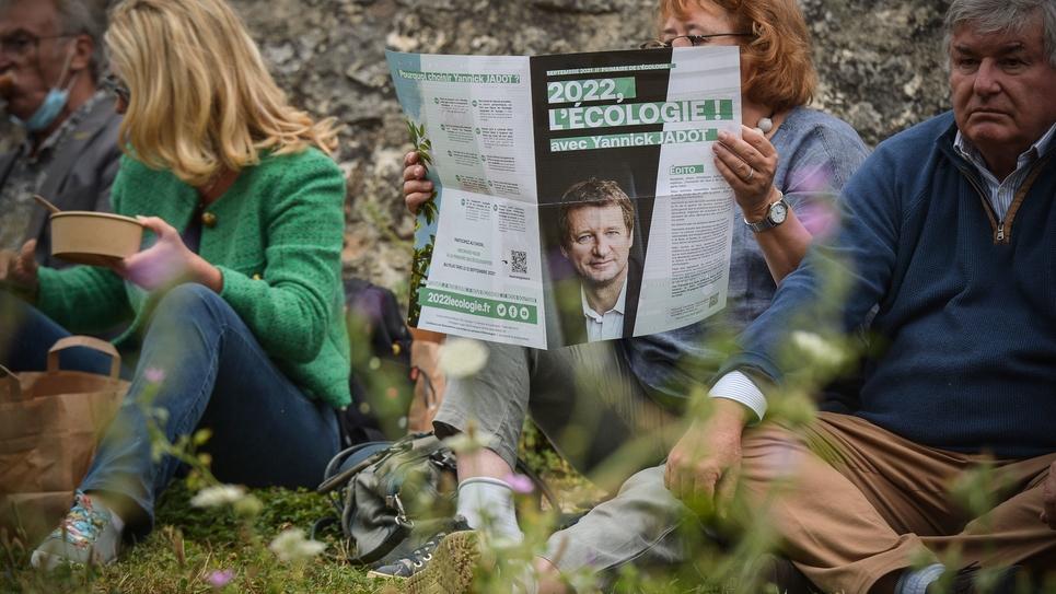 Poitiers: Yannick Jadot reunion militants journees d ete EELV