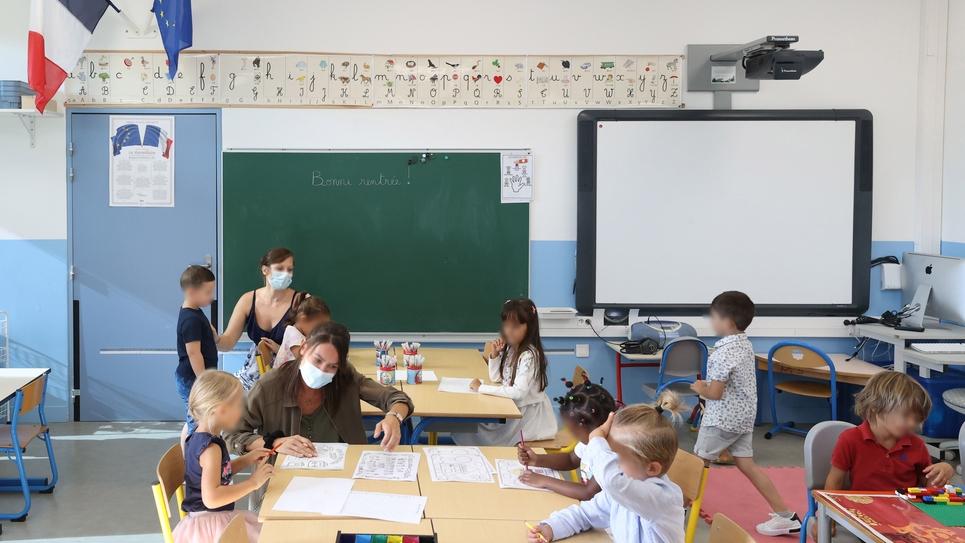 """Ecole Maternelle """"Samuel Paty"""" rentree des classes"""