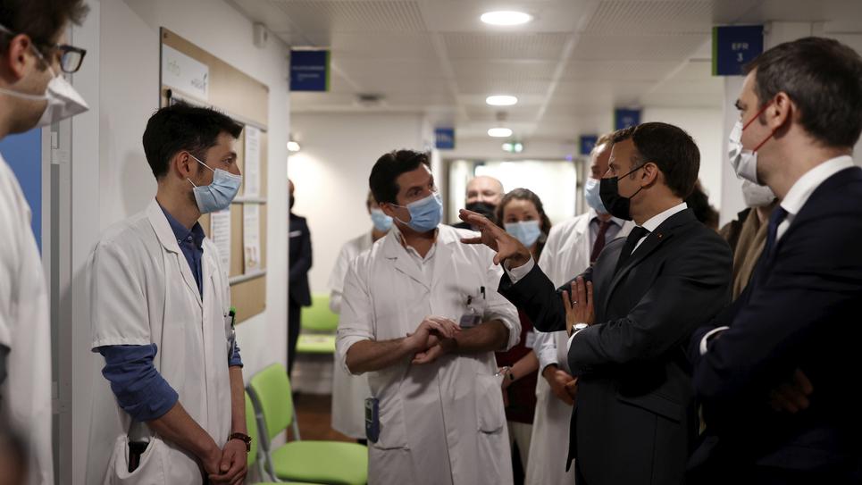 France Macron Virus Outbreak