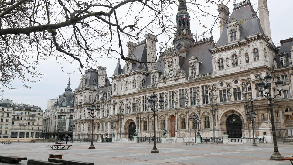France: Paris amid COVID-19 pandemic