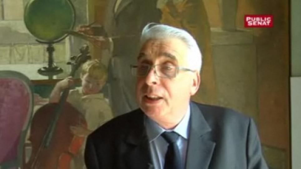 Jean-Pierre Sueur, sénateur socialiste, co-auteur du rapport d'information sur les sondages politiques