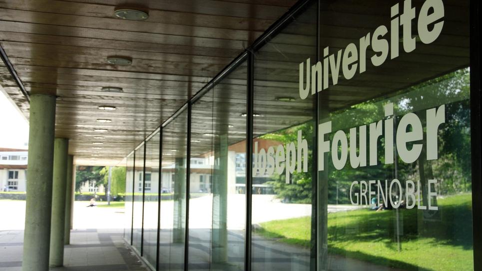 Grenoble Illustration of the university campus