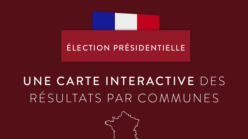 carte interactive presidentielle 2020 Présidentielle 2017 : carte interactive des résultats en temps