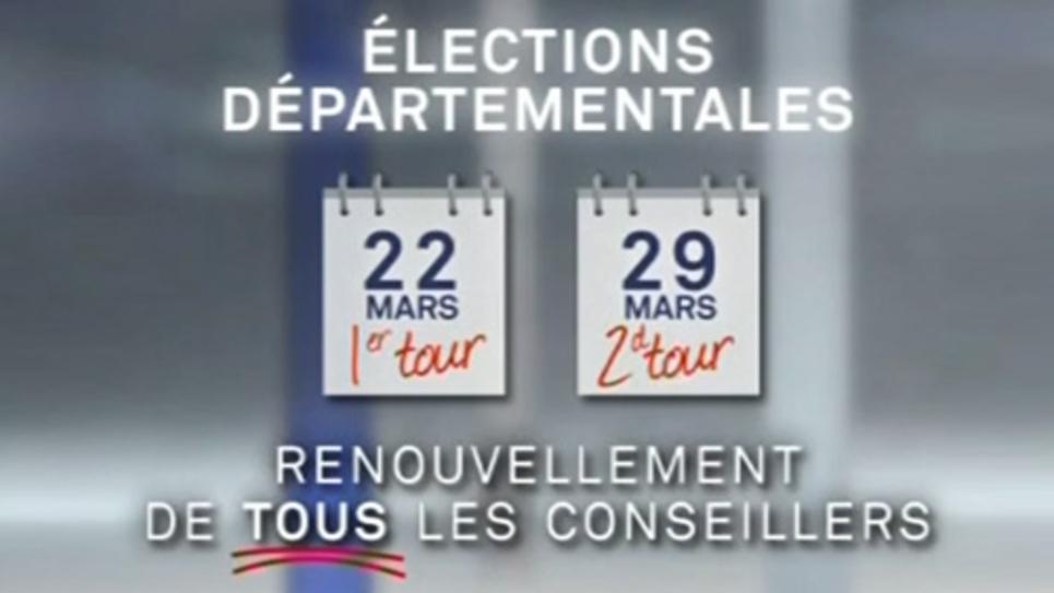 départementales 2015 : les principales dates de l'élection