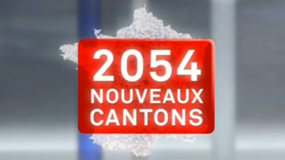 Les nouveaux cantons des élections départementales 2015