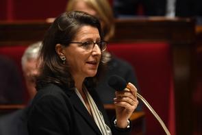 La ministre de la Santé Agnès Buzyn à l'Assemblée nationale, le 4 octobre 2017 à Paris