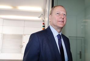 Le maire LR du XVe arrondissement de Paris, Philippe Goujon, le 18 juillet 2016 à Paris